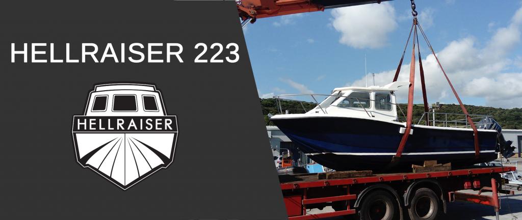 Hellraiser223 being prepared for transport